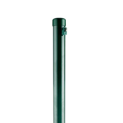 Green Powder Coated Steel Posts